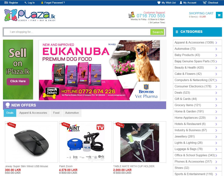 www.iplaza.lk